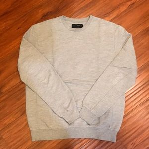 Zara mens crewneck sweater